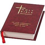Signature Personalizzato Bibbia Burgundy