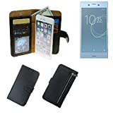 K-S-Trade Wallet case protective pocket for Sony Xperia XZs