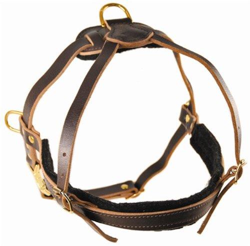 dean-et-tyler-le-cowboy-laiton-massif-de-materiel-cuir-harnais-pour-chien