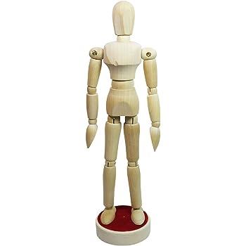 Gliederpuppe weiblich Modellpuppe Zeichenpuppe Holz-Zeichenfigur Puppe Figur