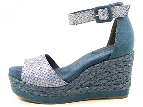 Tamaris 1-28308-28 Sandali donna Blau