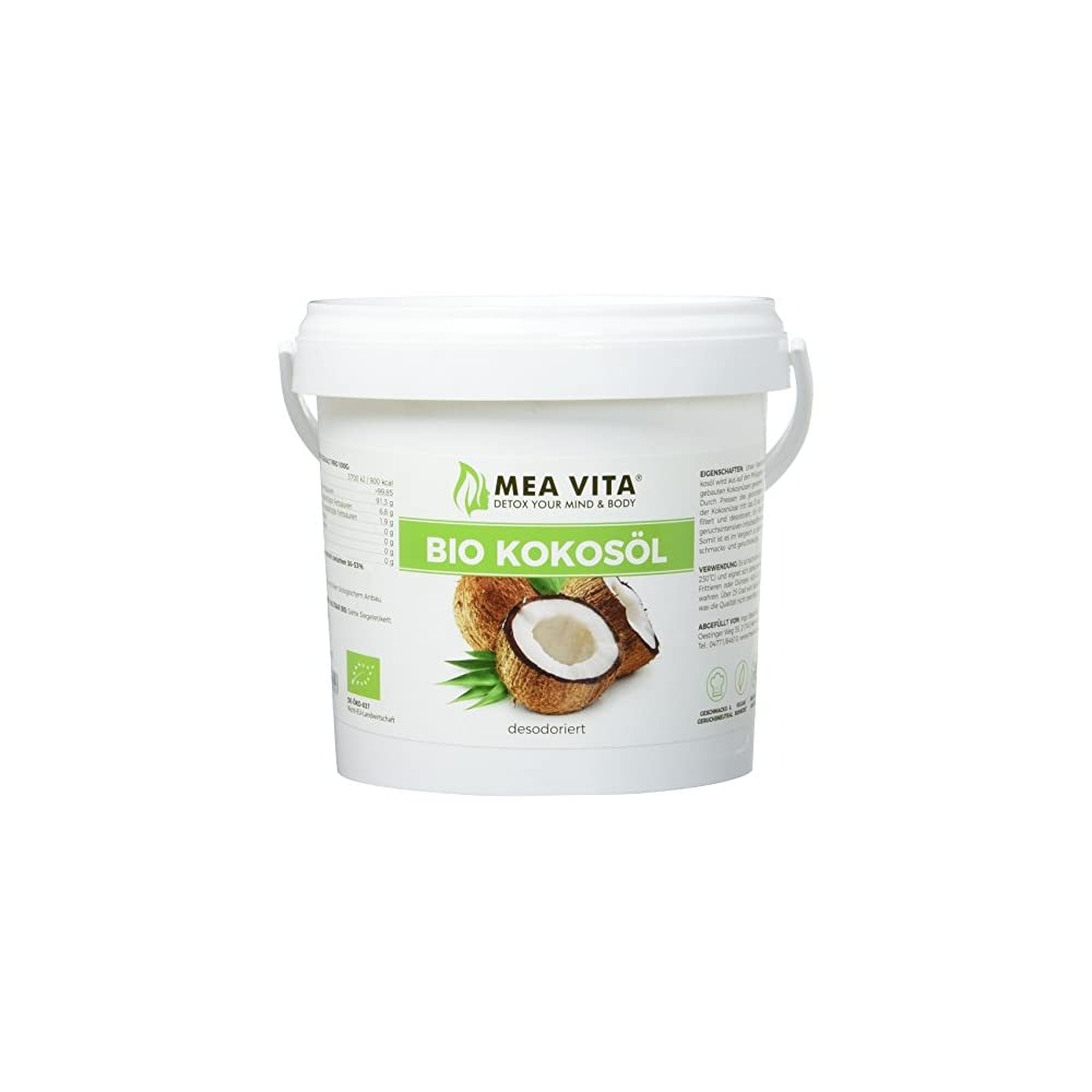 Meavita Bio Kokosl Geschmacksneutral 1er Pack 1 X 700 G