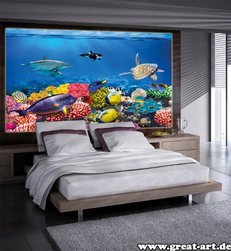 Poster per la stanza dei bambini immagine da parete for Acquario da parete