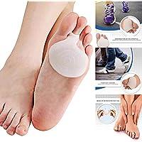 Yukio TravelFun - Silikon Vorfußpolster Komfort Weiche Atmungs Schmerzlinderung Füße Pads Gel Fuß Kissen Sport... preisvergleich bei billige-tabletten.eu