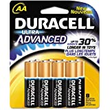 Duracell Ultra 8Pk Aa Battery Mx1500b8 Batteries Duracell