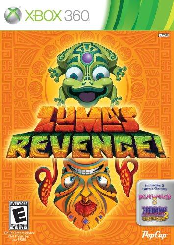 Zuma's Revenge! mit Bejeweled 3 und Füttern Frenzy 2 - Xbox 360 (Popcap Games Für Xbox 360)