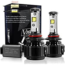 Wiseshine hb3 9005 60W super cree de full kit led Diseño canbus 7200 Lumen 6000K blanco frío