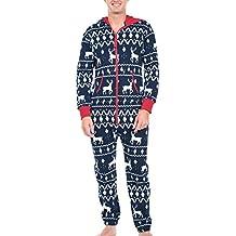 Mono Enterizo Mameluco Pijama De Navidad Con Familia