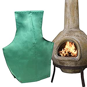 Heavy Duty Dust & Water Proof Medium Chimnea Chiminea Cover Rain Cold Protector - 84cm x 48cm