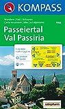 Passeiertal / Val Passiria 1 : 25 000: Wander-, Rad- und Skitourenkarte. Mit Kompass-Lexikon. GPS-genau