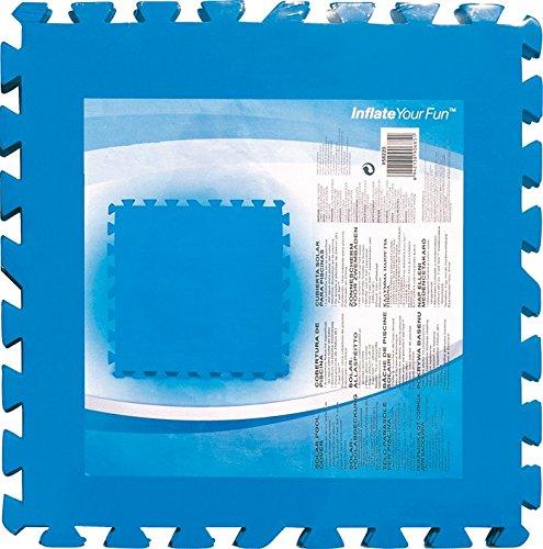 Fliese aus Polyethylen für Pool Packung 8Stück Maßnahmen 50x 50cm