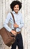 LEABAGS Dubai Reisetasche aus echtem Büffel-Leder im Vintage Look - 6