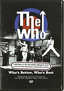 The Who: Who's Better Who's Best [DVD]