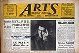 Telecharger Livres ARTS No 92 du 08 11 1946 HUMANISME ET ART ABSTRAIT PAR HEMARQUE LE 1ER SALON DE LA PHOTOGRAPHIE PAR J VLLERY RADOT LE DESTIN D UNE STATUE CREATION D UN CENTRE DE FILMOLOGIE A PARIS THEOPHILE GAUTIER (PDF,EPUB,MOBI) gratuits en Francaise