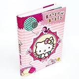 Hello Kitty Folk Font Diario Scuola 2013-2014 Rosa STD
