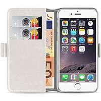 Schutzhülle iPhone 66S Schutzhülle iPhone 66S | JAMMYLIZARD | Schutzhülle Schutzhülle DELUXE Range Karten Magnetverschluss, Weiß