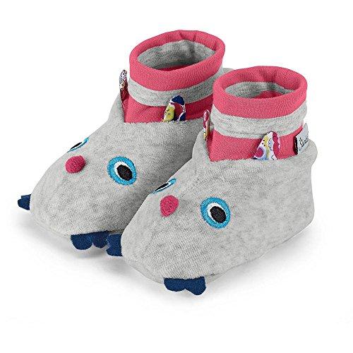 Sterntaler - Baby Mädchen Schuhe, Grau - 4001691 Grau