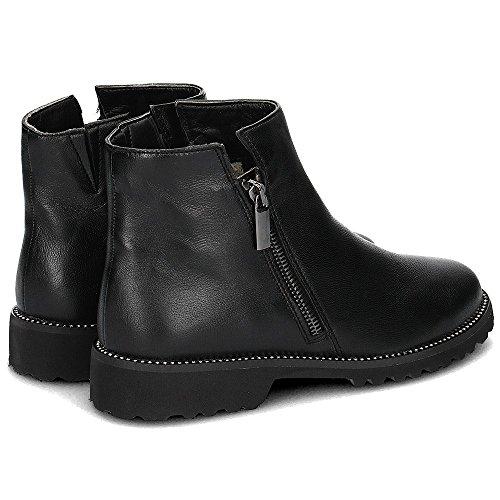 Caprice Damen 25475 Chelsea Boots Schwarz