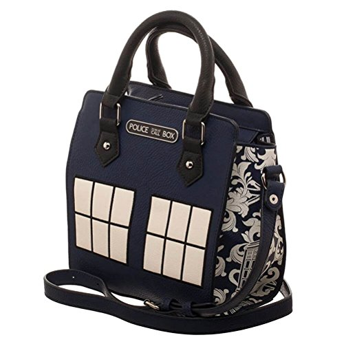 Doctor Who Tardis Polizei Box Juniors Mini Kurze Handtasche (Junior-mischung)