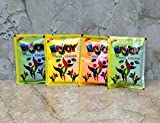 Wigano Enjoy Non Toxic Holi/Gulal Colour Powder (100gms Each) - Pack of 4 Assorted Colours