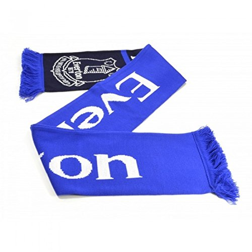Everton FC Official – Bufanda jacquard diseño Nero