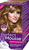 Perfect Mousse Permanente Schaumcoloration 850 Karamell-Blond Stufe 3, 3er Pack (3 x 93 ml)