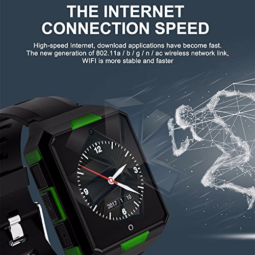 Preisvergleich Produktbild M9 4G Network MTK6737 Smart Watch Phone 1G+8G IP68 Blood Pressure HR Outdoor Smart Watch (Free Express Shipping)