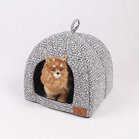 Animale domestico cane casa Kennel yurta per animali , large