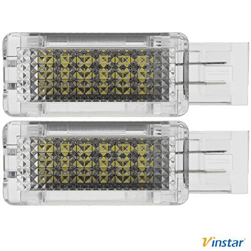 Preisvergleich Produktbild Vinstar 2X LED Einstiegsbeleuchtung für Mercedes Benz R171 W203 W209 W639 C209 S203