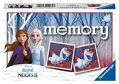 Ravensburger- Memory La Reine des Neiges 2 Jeu Educatif, 4005556242757