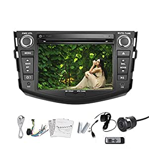 pupug auto dvd player f r toyota rav4 car suv. Black Bedroom Furniture Sets. Home Design Ideas
