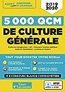 5000 QCM de culture générale + Actu en ligne mois par mois - Concours et examens 2019-2020 par Mattern