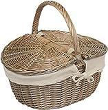 ANTICO Finitura Lavato OVALE picnic con farina d' AVENA fodera