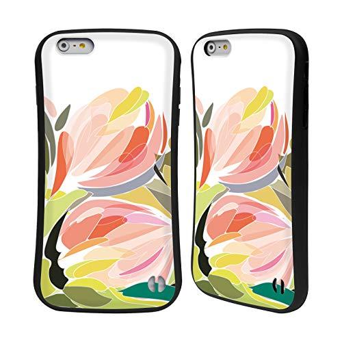 Head Case Designs Offizielle Turnowsky Blueten Knospe Blume Hybrid Hülle für iPhone 6 Plus/iPhone 6s Plus