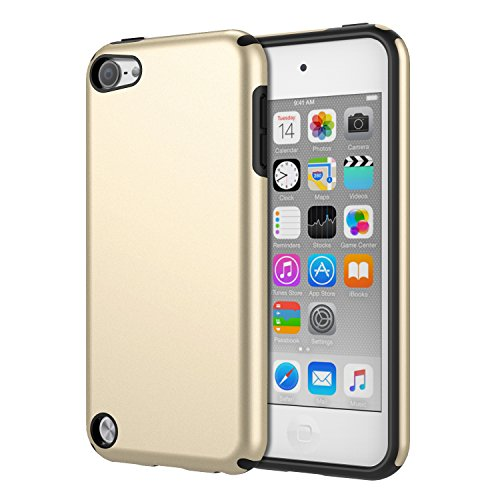 MoKo Schutzhülle für iPod Touch 6 / iPod Touch 5 Gold - Apple Ipod Touch Cases