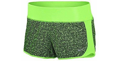 Nike Damen Dri-Fit? Crew Print Shorts, Damen, grün