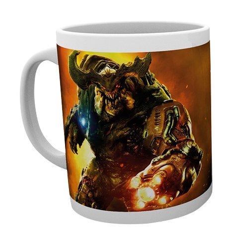 GB Eye Ltd, Doom, Cyber Demon, Tazza