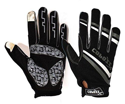 COPOZZ Outdoor Gloves for Men & Women (Gray, M)