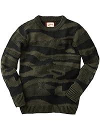 Joe Browns Men's Pullover Long Sleeved Camo Knitted Jumper
