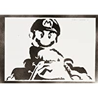 Super Mario Handmade Street Art - Artwork - Poster