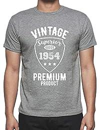 1954 Vintage superior, regalo cumpleaños hombre, camisetas hombre cumpleaños, vendimia superior camiseta hombre, camiseta regalo, regalo hombre