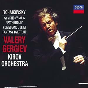"""Tchaïkovski : Symphonie n° 6, """"Pathétique"""" / Roméo et Juliette (ouverture fantaisie)"""