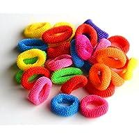 Juego de 30elásticas multicolores para cabello