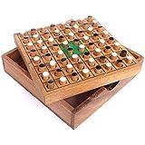 Logica Giochi art. JUEGO DE OTHELLO – Caja de madera de Teca – set de viaje