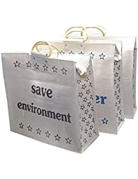 Large Capacity Shopping Bag/Grocery Bag/Vegetable Bag For Everyday Use Size: 43 X 48.5 X 16.5 Cm (1 Pcs)