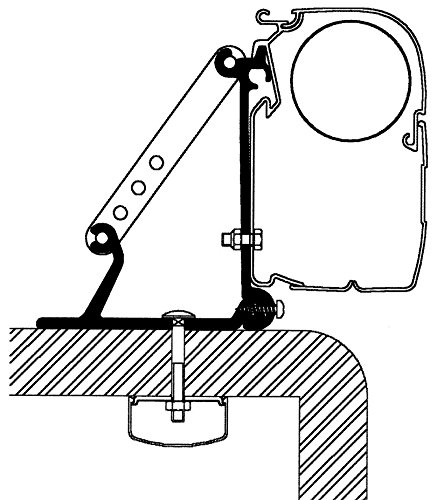 Preisvergleich Produktbild Thule Omni-Adapter Roof