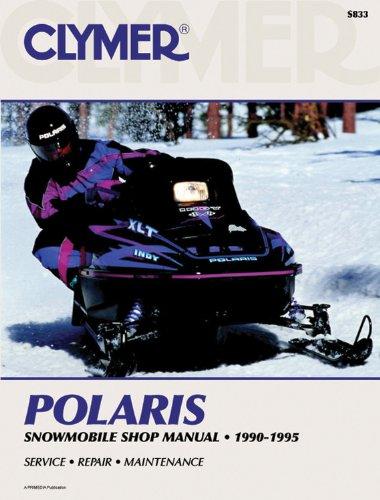 Polaris Snowmobile 90-95 (Clymer Snowmobile Repair Series) por Penton