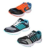 #9: Super Men Combo Pack Of 3 Sports Shoes