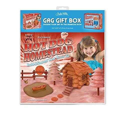 Hot Dog Homestead Meat House Kit Gag Gift Box