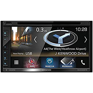Kenwood-Electronics-DNX5180DABS-200W-Bluetooth-Schwarz-Auto-Media-Receiver-Schwarz-2-DIN-200-W-50-W-2402-248-Hz-Android-iOS
